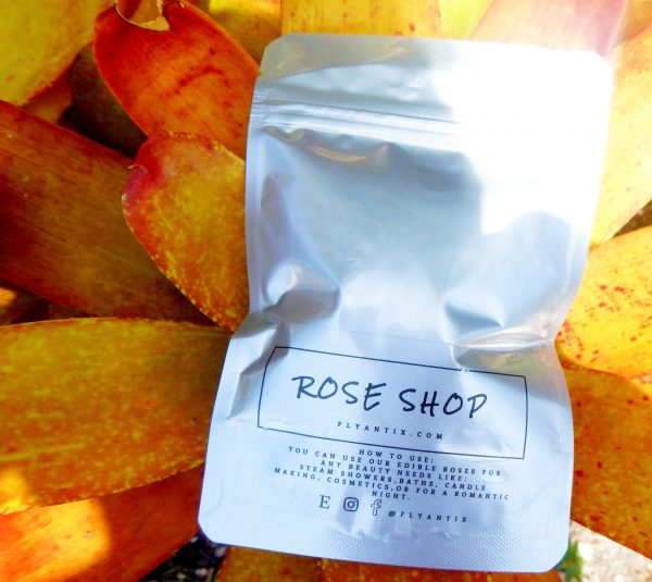 Organic Dried Edible Roses